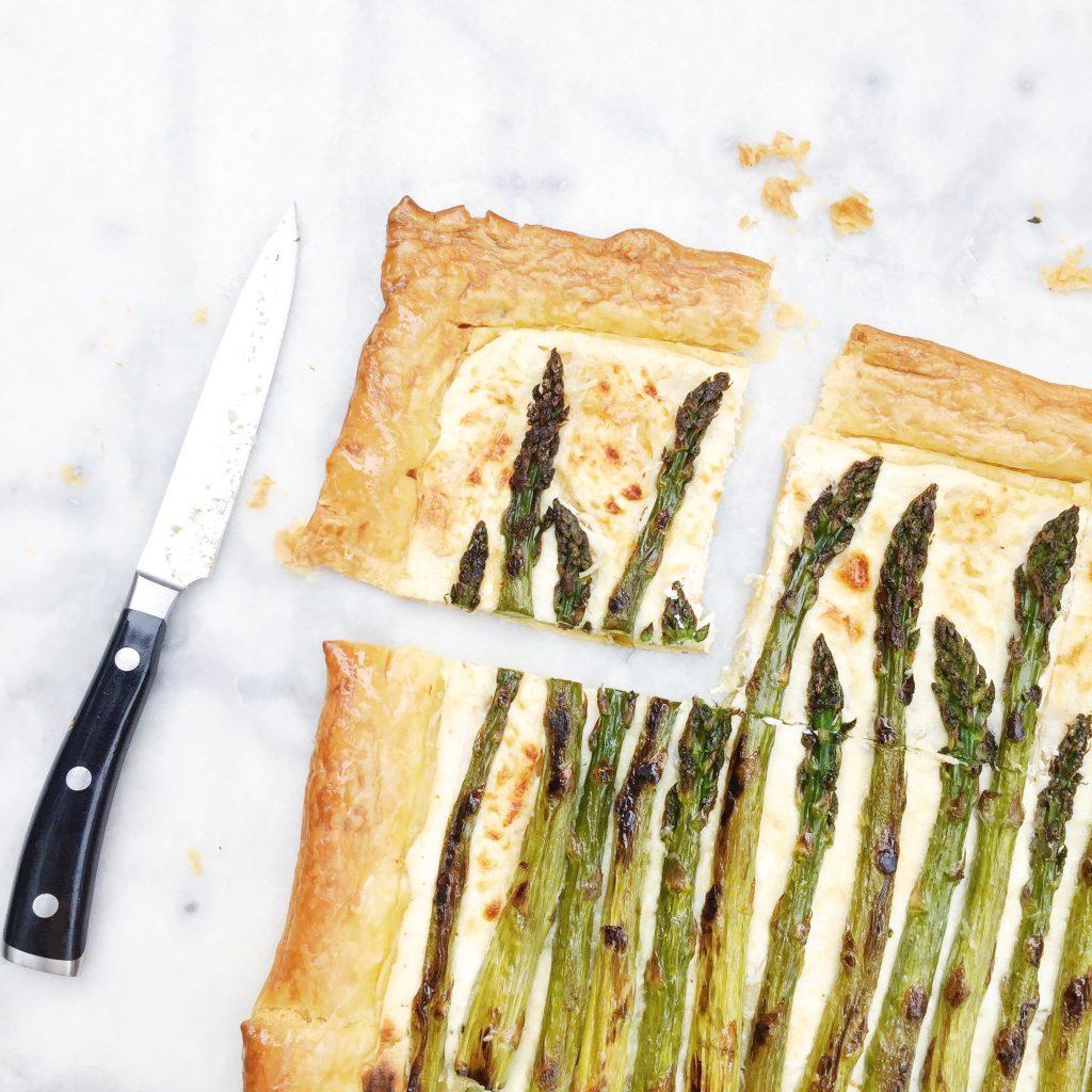 Recept aspergetaart bladerdeeg made by ellen