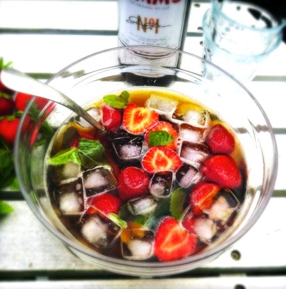 Pimm's cocktail maken - recept heerlijk & snel made by ellen