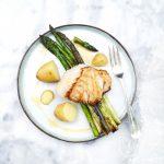 Recept groene asperges grillen met botersaus made by ellen