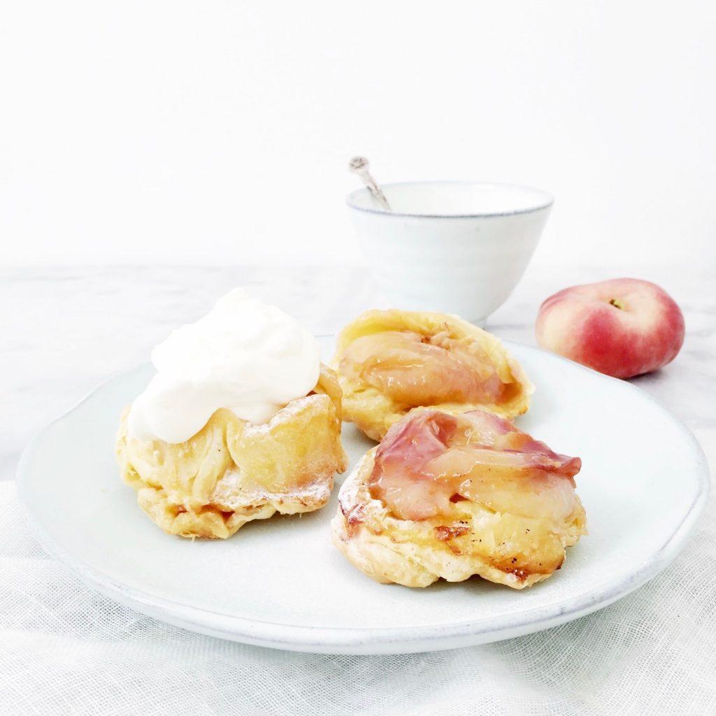 Perzik tarte tatin met slechts 3 ingrediënten made by ellen