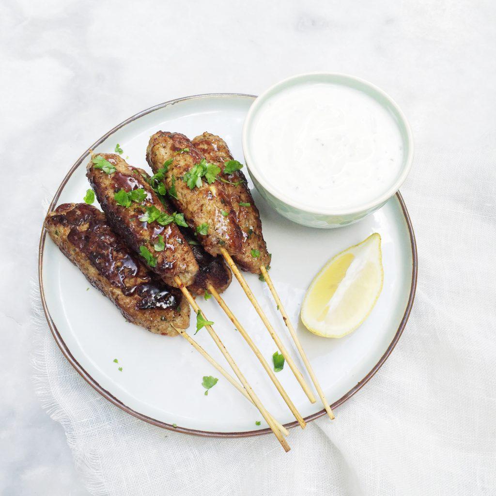 Recept köfte kebab maken made by ellen