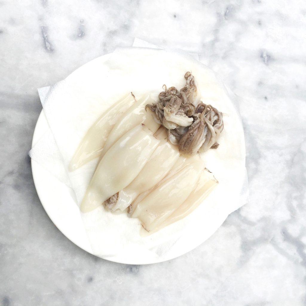 Inktvis recept: gevulde pijlinktvis Italiaans made by ellen