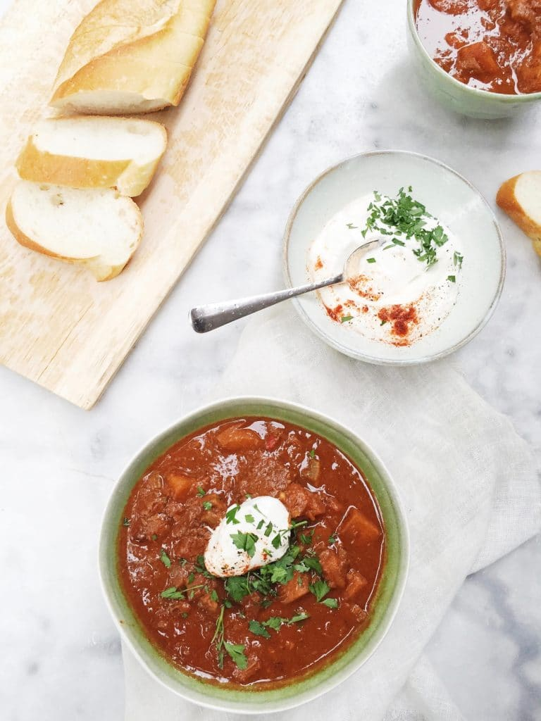 Goulash maken - Hongaars stoofvlees recept made by ellen