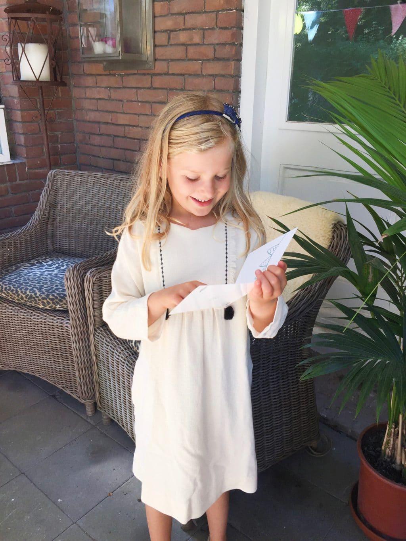 Verjaardagskaart versturen aan mijn dochter made by ellen