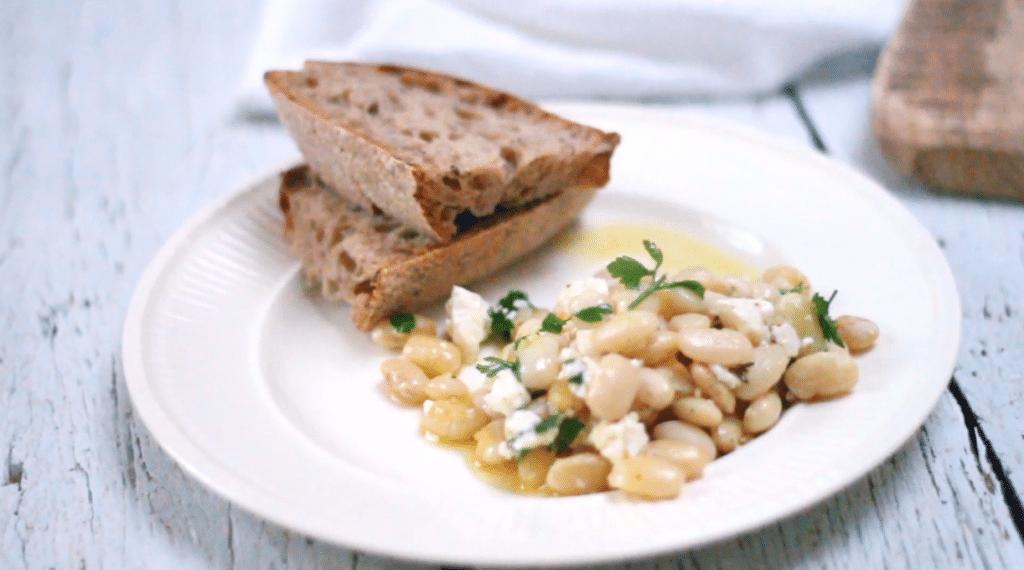 Recept bonen met kruiden & feta uit de oven made by ellen