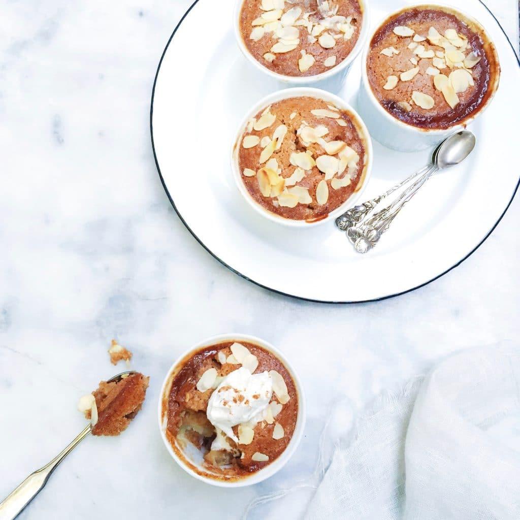 Snelle appel cakjes met speculaas bakken made by ellen