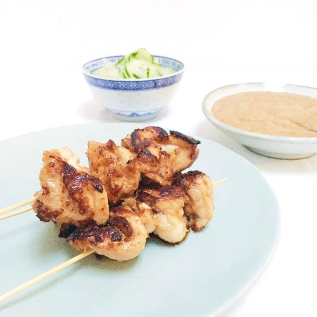 Kipsaté maken - het lekkerst met kippendijen made by ellen recept