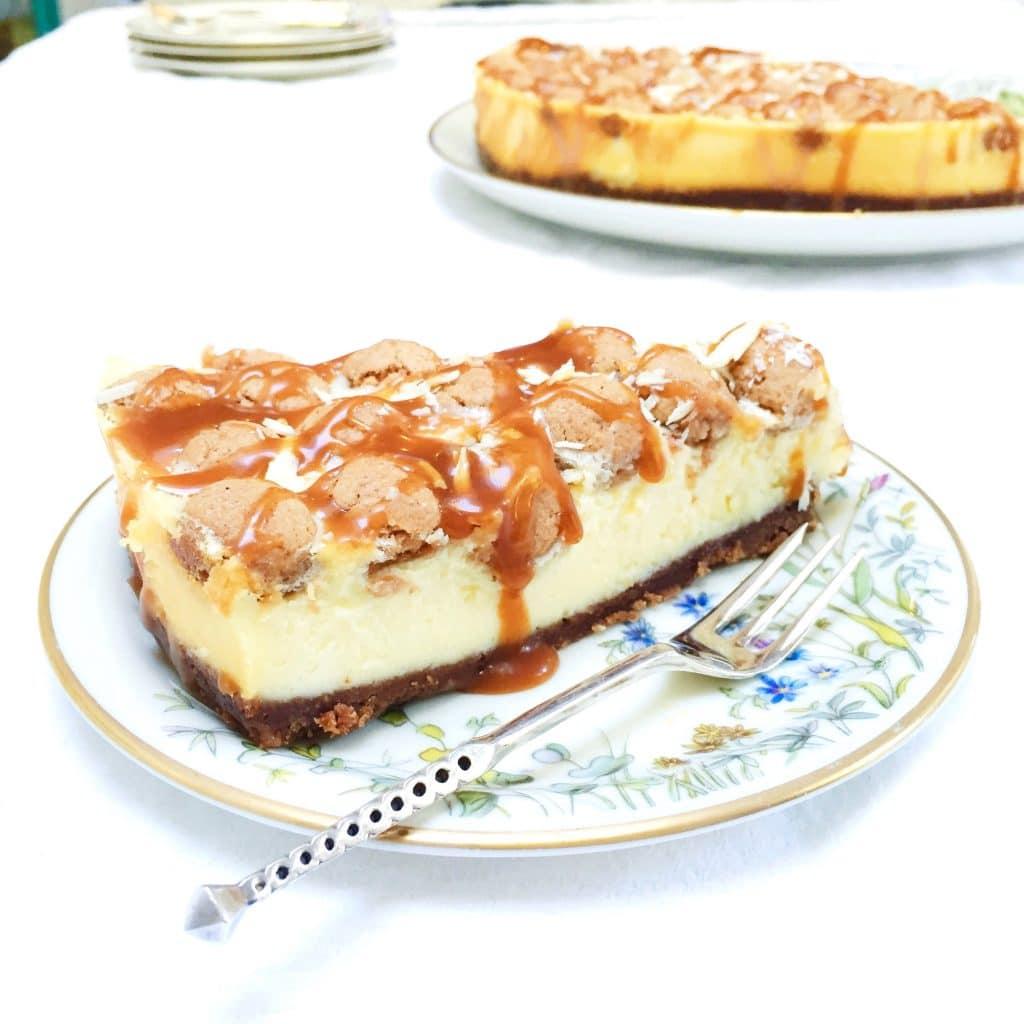 Sinterklaastaart speculaas cheesecake met kruidnoten made by ellen made by ellen