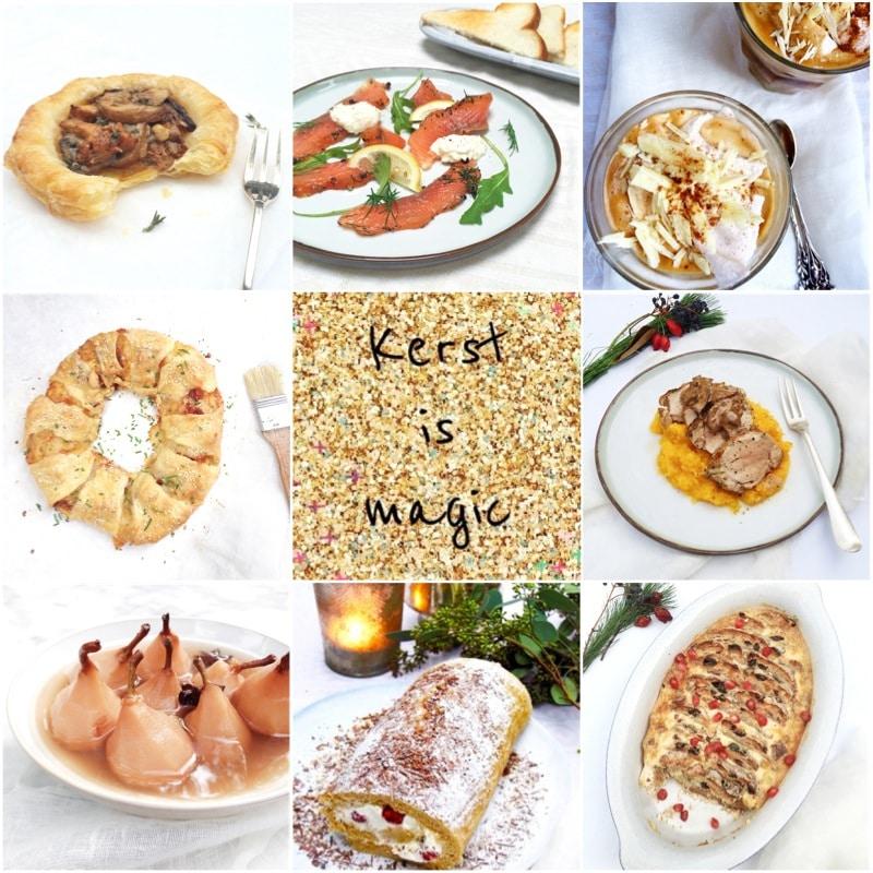 Kerst recepten - 60x feestelijke recepten voor kerst made by ellen