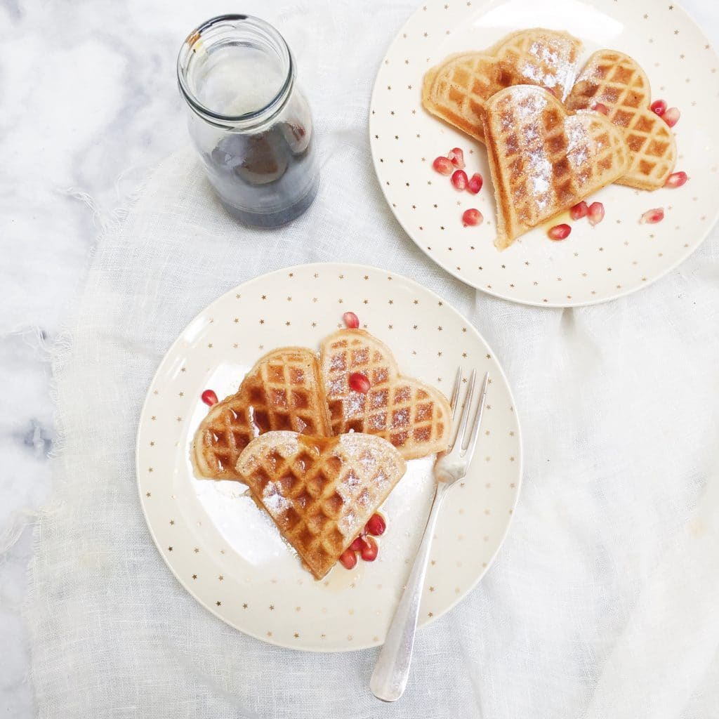 Wafels maken met vanille & kaneel made by ellen