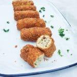 Zuurkoolkroketten recept met mosterd & spekjes made by ellen