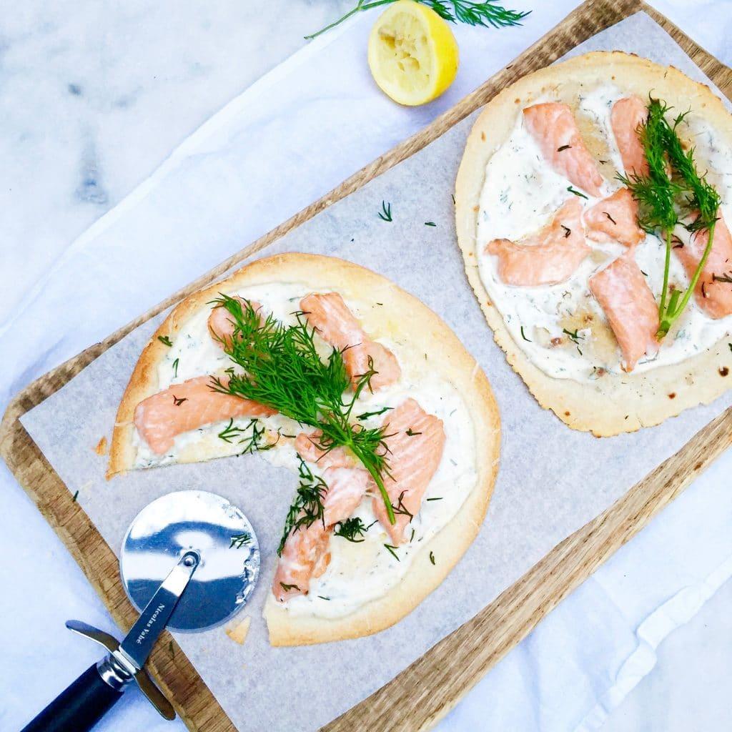 Tortizza recept met zalm & ricotta made by ellen