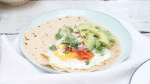 Video wraps maken met ei & avocado