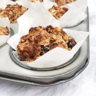 Banaan muffins - gezond recept made by ellen