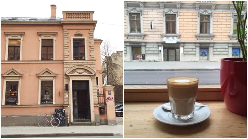 Miit Coffee aan het Lacplesa Iela 10, made by ellen