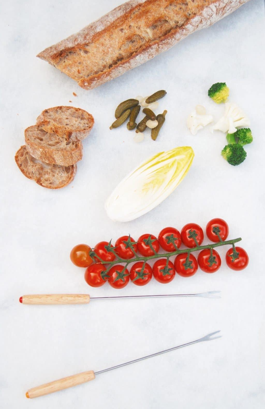 Zelf kaasfondue maken met wijn + wat is er lekker bij! made by ellen