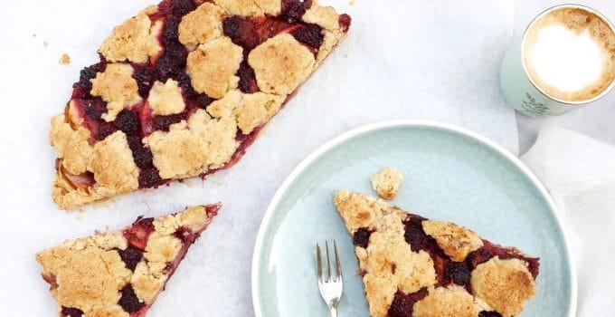 Bramen crumble taart