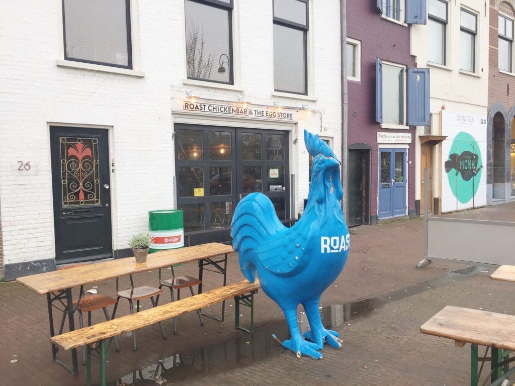 Roast Chicken bar Haarlem - dé hotspot voor kip, made by ellen