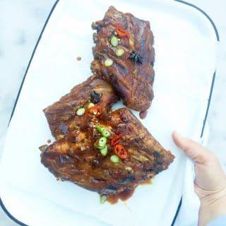 Spareribs bereiden in de oven - Aziatisch recept, made by ellen