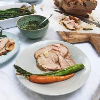 Lamsbout in de oven met rozemarijn & knoflook made by ellen