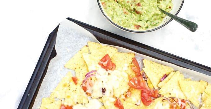 Nacho cheese ovenschotel