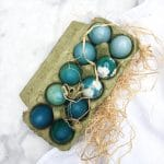Pasen knutselen - paaseieren verven met natuurlijke kleurstof made by ellen