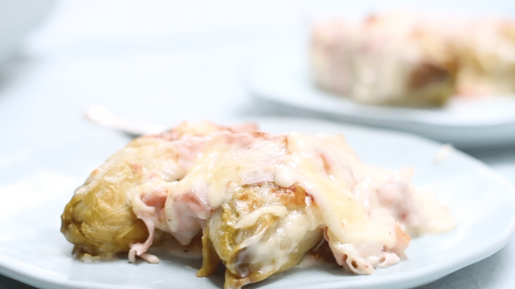 Witlof ham kaas uit de oven - video ingredienten made by ellen