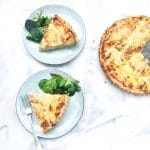 Aspergequiche made by ellen