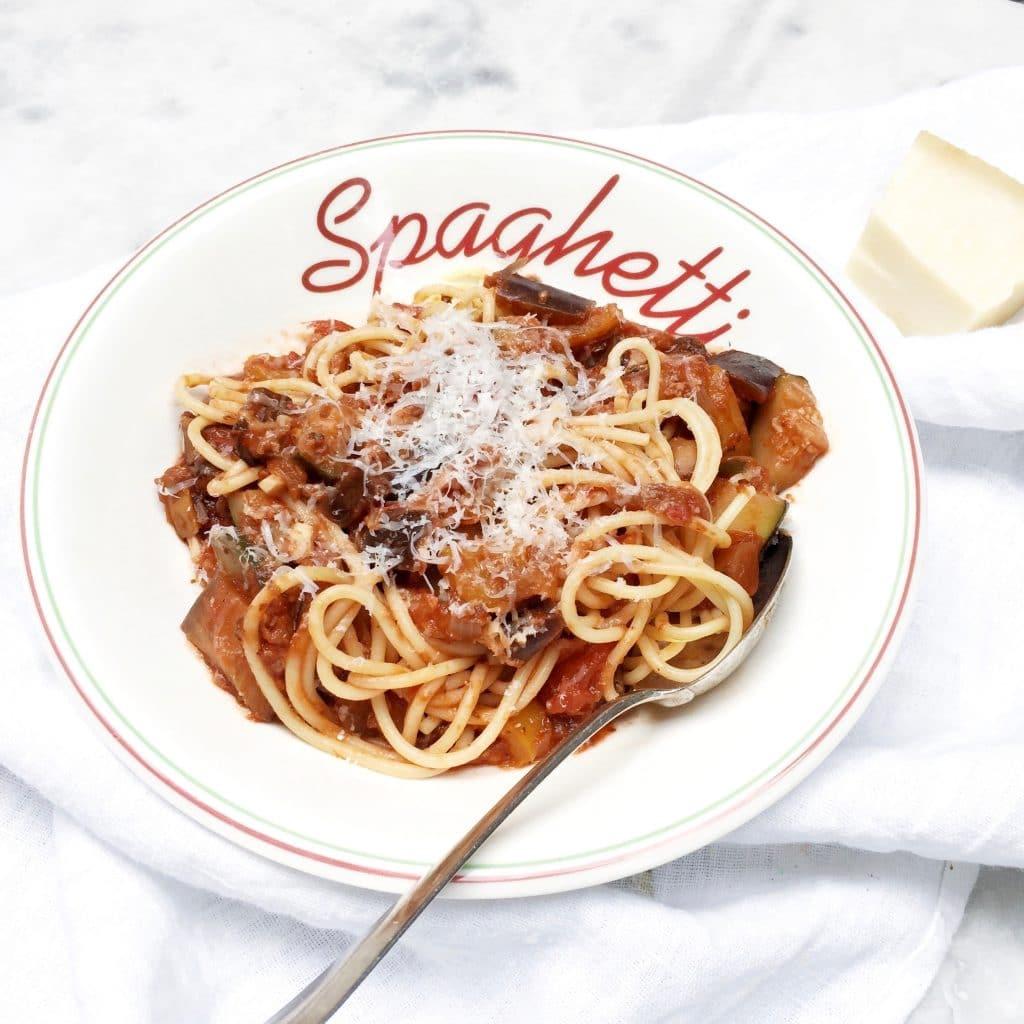 Vegetarische pasta made by ellen