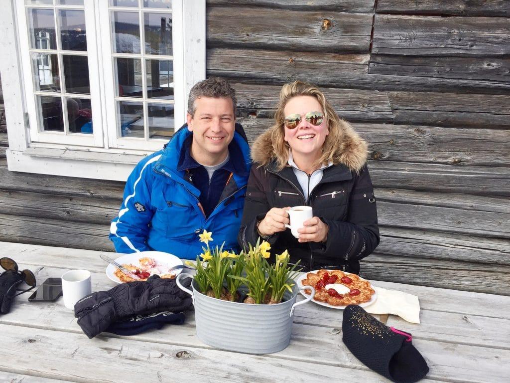 Skien in Noorwegen - Skeikampen (Svingvoll) made by ellen