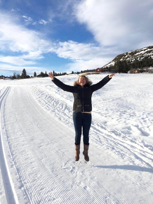 skivakantie skeikampen, svingvoll, noorwegen made by ellen