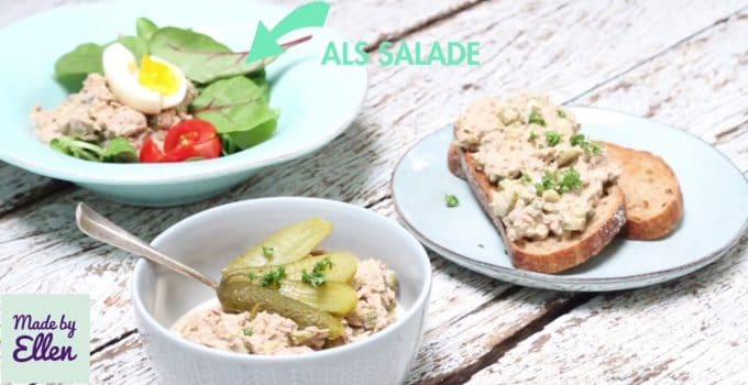 Tonijnsalade recept (video)