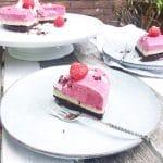 Frambozen ijstaart - gezond(er) recept made by ellen
