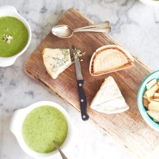 Recept broccolisoep met blauwe kaas maken made by ellen