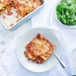 Cannelloni met gehakt, tomatensaus & kaas uit de oven