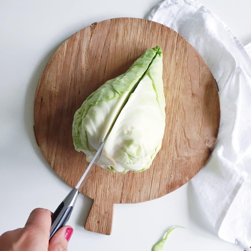 Spitskool recept & hoe te snijden en bereiden made by ellen