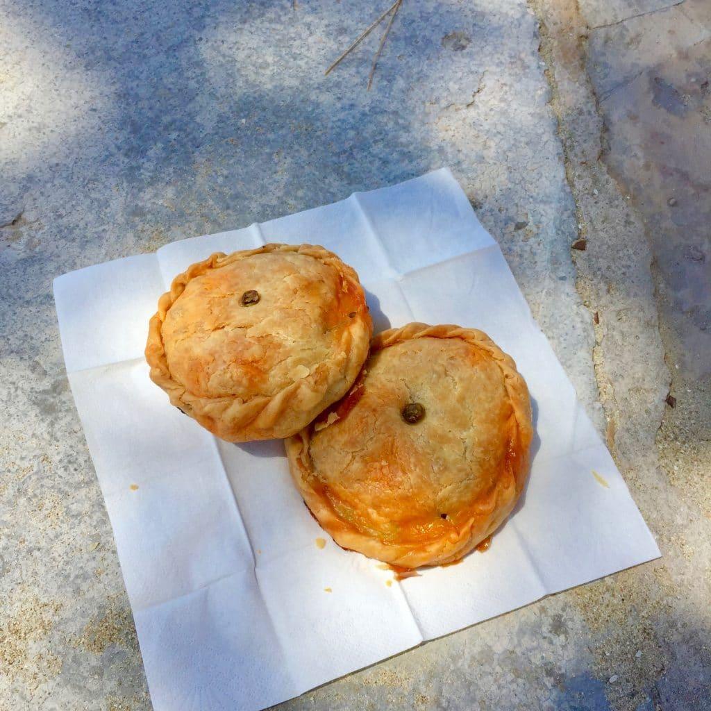 empanada panada's made by ellen