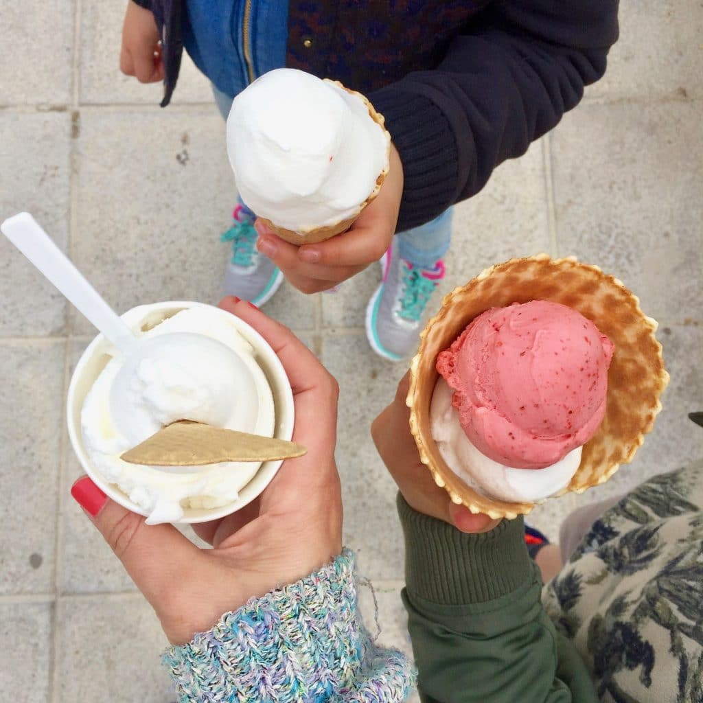 ijs Gelats Valls Pollenca Mallorca tips! Lekkerste koffie, ijs en restaurants