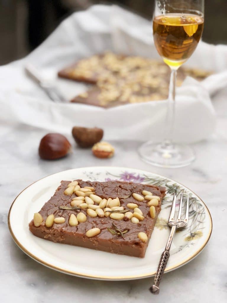 Kastanjecake zonder suiker - Italiaans recept