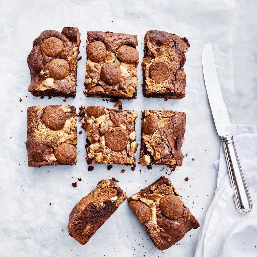 Sinterklaas recept pepernoten brownie made by ellen