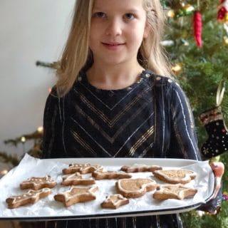 Gingerbread koekjes bakken