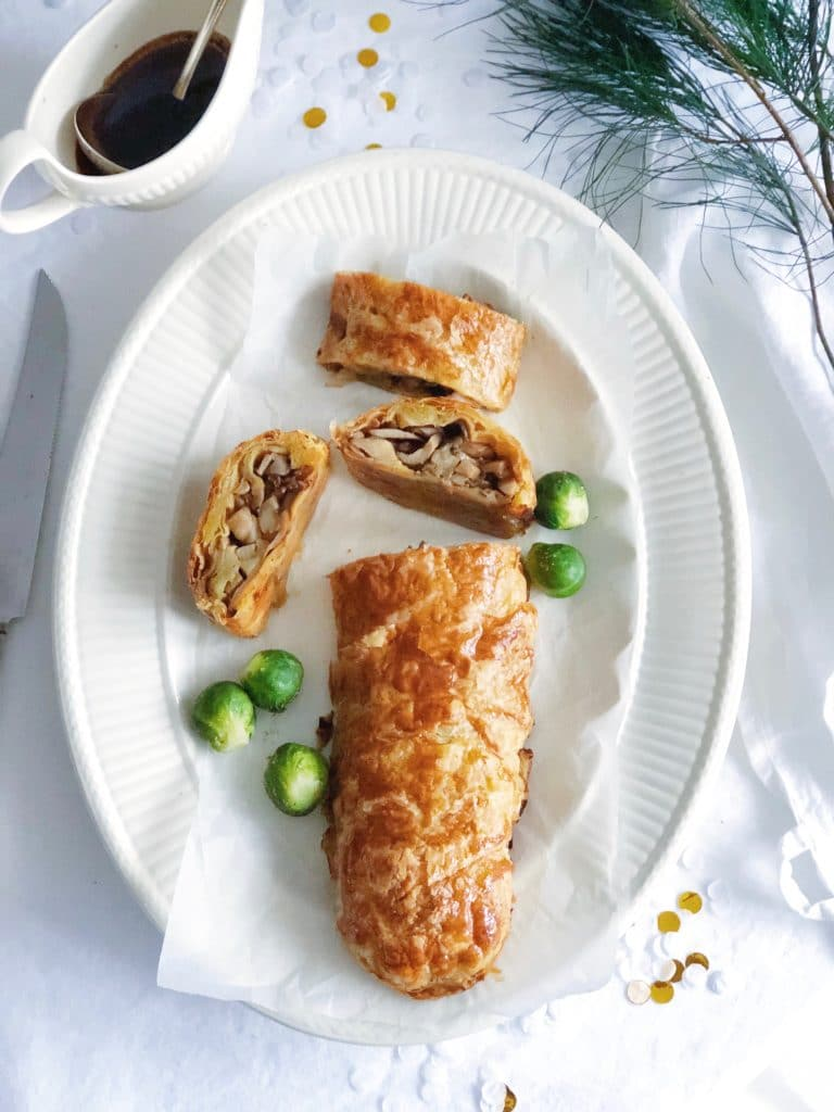 Vegetarische wellington met paddestoelen & jus made by ellen