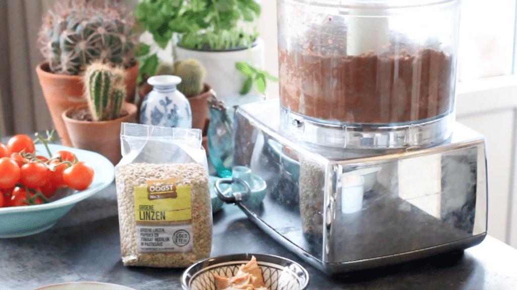 Groene linzen taart made by ellen recept