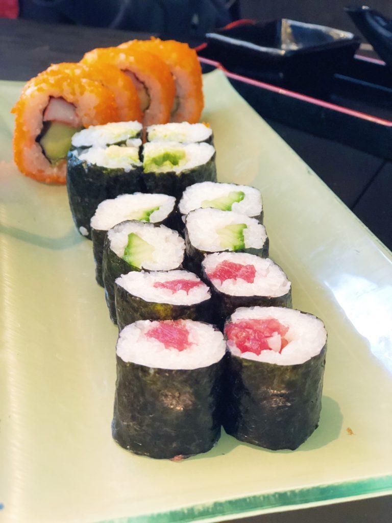 Sushi etiquette made by ellen