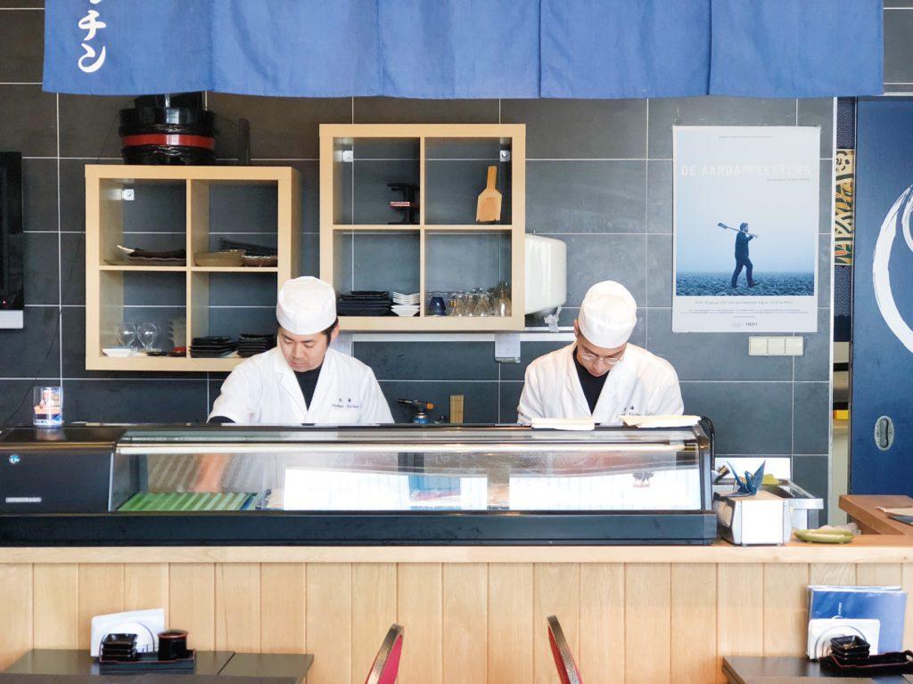 Keuken van Hokkai kitchen