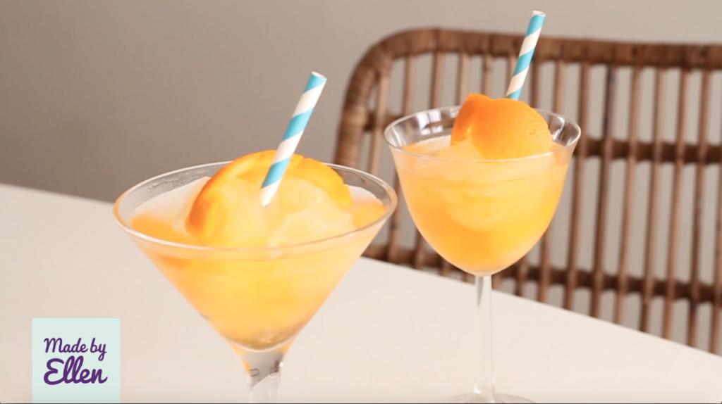 Oranjebitter cocktail met prosecco