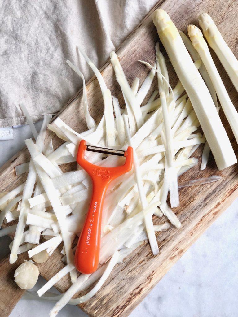 Asperges koken zonder aspergepan made by ellen
