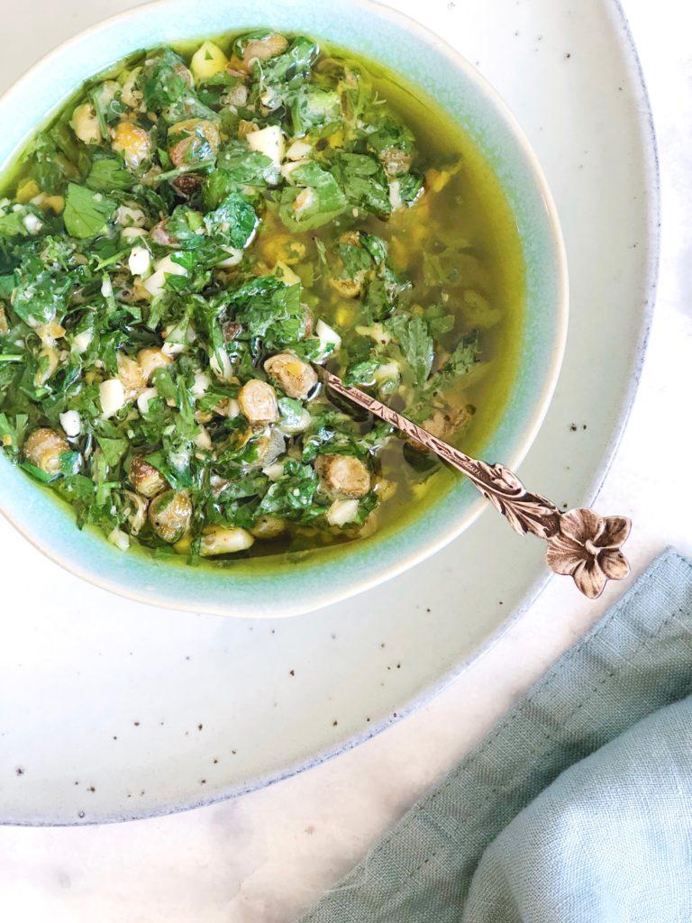 Salsa verde - zelf deze smaakvolle groene saus maken