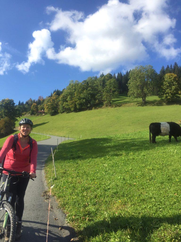 fietsen in de bergen brixental oostenrijk made by ellen