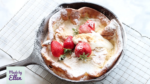 Dutch baby pancake recept met aardbeien + video